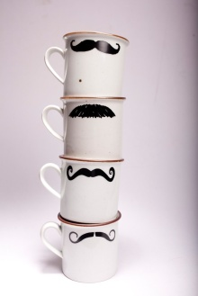 Mustache-Cups